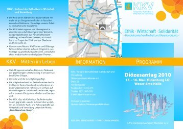 Diözesantag 2010 - KKV Bundesverband