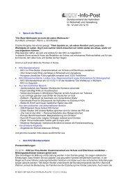 Infopost Dezember 2010 - KKV Bundesverband