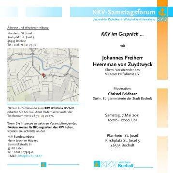 KKV-Samstagsforum - KKV Bundesverband