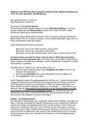 Begrüßungsrede - KKV Bundesverband