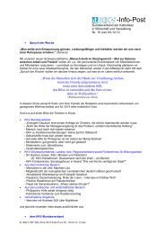 Infopost Nr. 10 - 04.12.2013 - KKV Bundesverband