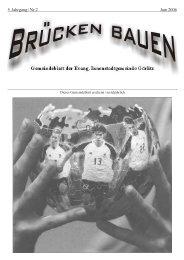 Brücken bauen Nr. 2 2006 - Evangelischer Kirchenkreisverband ...