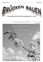 Brücken bauen Nr. 1 2007 - Evangelischer Kirchenkreisverband ...