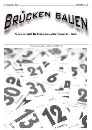 Brücken bauen Nr. 4 2006 - Evangelischer Kirchenkreisverband ...