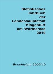 Jahrbuch 2010 - Magistrat Klagenfurt