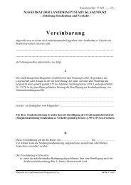 Vereinbarung - Klagenfurt