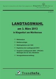 Landtagswahl 03.03.2013 - Klagenfurt