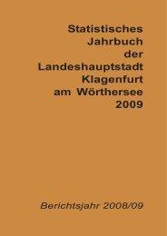 Jahrbuch 2009 - Magistrat Klagenfurt