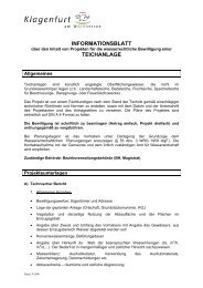 Teichanlage Infoblatt - Magistrat Klagenfurt