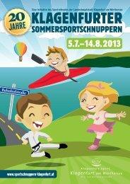 Klagenfurter Sommersportschnuppern 2013 - Magistrat Klagenfurt