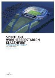 Stadion Infomappe - Magistrat Klagenfurt