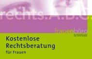 Kostenlose Rechtsberatung für Frauen - Klagenfurt