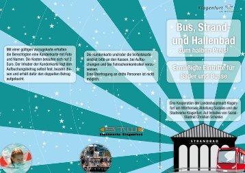 Bus, Strand- und Hallenbad - Klagenfurt