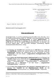 V e r o r d n u n g - Magistrat Klagenfurt