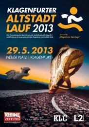 Altstadtlauf 2013 Infos - Magistrat Klagenfurt