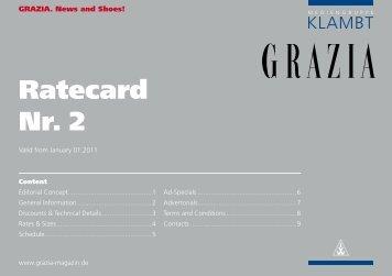 Ratecard Nr. 2 - Klambt-Verlag