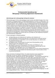 Informationen - Klammer Schilp Partner