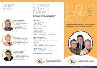 RZ Flyer KSP DIN lang 2013.indd - Klammer Schilp Partner