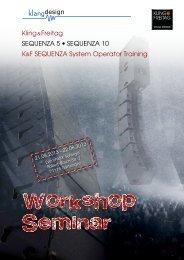 Workshop Seminar - klangdesign GmbH