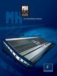 Katalog Soundcraft MH-2 - klangdesign GmbH