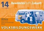 Gerade erschienen: Programm Frühjahr/ Sommer 2014 - Klarenthal