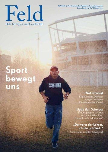 Feld - Klartext-Magazins