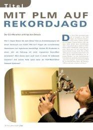 Dessault Systemes AG - Mit PLM auf Rekordjagd