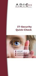IT-Security Quick-Check