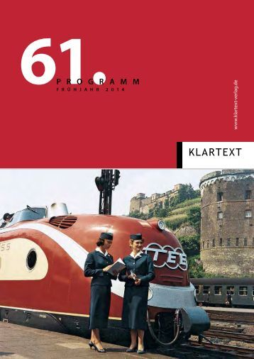 Vorschau Allgemeines Programm Frühjahr 2014 - Klartext Verlag