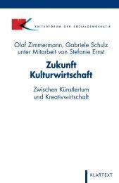 Zukunft Kulturwirtschaft - Deutscher Kulturrat
