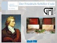 Präsentation der Forschungsergebnisse von Prof. Dr. Walther Parson