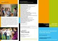 Tagungsprogramm - Klassik Stiftung Weimar