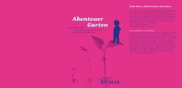 Abenteuer Garten - Klassik Stiftung Weimar