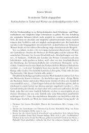 In steinerne Tafeln eingegraben - Klassik Stiftung Weimar