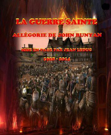La Guerre Sainte - Allégorie de John Bunyan