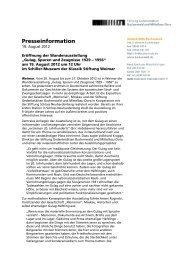 PM Eröffnung Ausstellung Gulag_final - Klassik Stiftung Weimar
