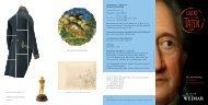 Ausstellungsflyer - Klassik Stiftung Weimar