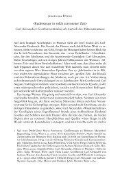 rudersteuer in solch zerrissener Zeit« - Klassik Stiftung Weimar