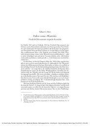 Pathos versus »Wurstelei« - Klassik Stiftung Weimar