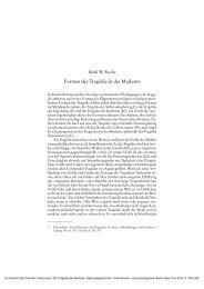 Formen der Tragödie in der Moderne - Klassik Stiftung Weimar