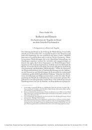 Katharsis und Ekstasis - Klassik Stiftung Weimar