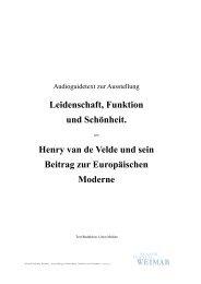 Audioguide-Text - Klassik Stiftung Weimar