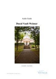 Audio guide texts - Klassik Stiftung Weimar