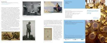 und Veranstaltungshöhepunkte 2014 - Klassik Stiftung Weimar