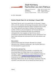 Informationen zum zweiten Klassik Open Air am Samstag, 8. August ...