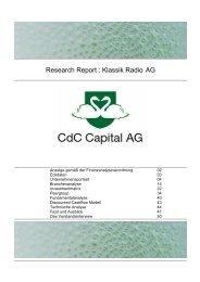 Klassik Radio AG 060705