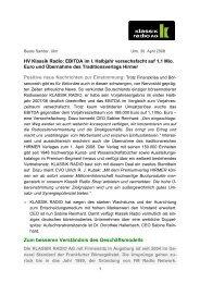 HV-Bericht Klassik Radio AG 2008 von Beate