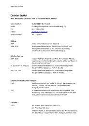 Christian Stoffel - Seminar für Klassische Philologie - Johannes ...
