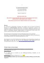 Vorlesungsverzeichnis WS 2011/12 (243 KB) - Seminar für ...
