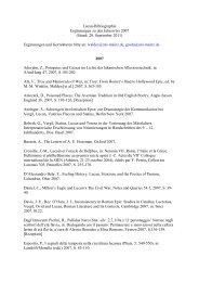 Lucan-Bibliographie Ergänzungen zu den Jahren bis 2007 (Stand ...